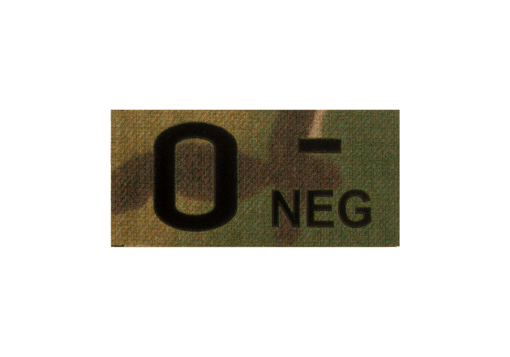 0 Neg IR Patch Multicam