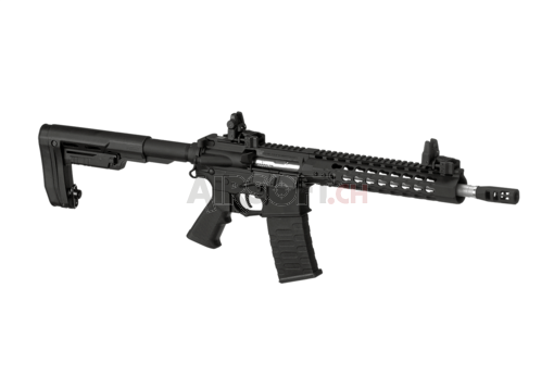 10 Inch Keymod RS1 Match Rifle Blowback Black (APS)