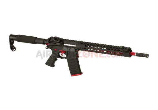 12.5 Inch Keymod Match Rifle Blowback Black (APS)