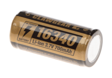 16340-Battery-3.7V-700mAh-Black-Clawgear