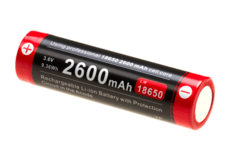 18650-Battery-3.7V-2600mAh-Micro-USB-Klarus