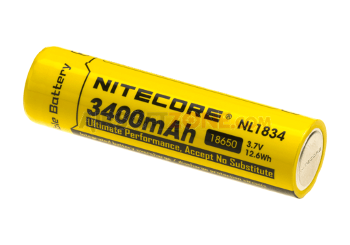 18650 Battery 3.7V 3200mAh (Nitecore)