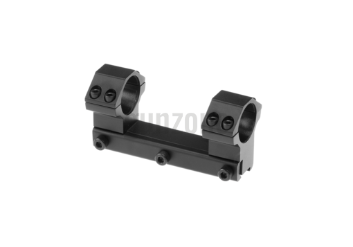 25.4mm Airgun Mount Base High Black (Leapers)