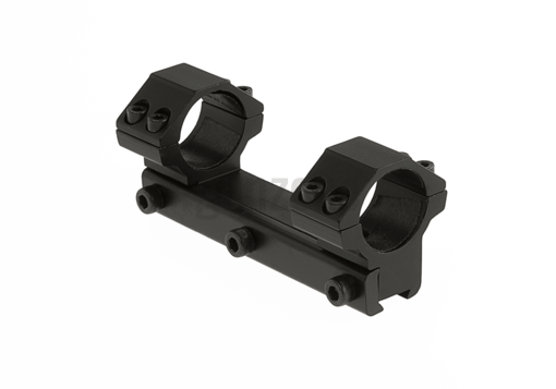 25.4mm Airgun Mount Base Medium Black (Leapers)