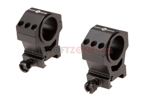 30mm / 25.4mm Tactical Mounting Rings - High Height (Sightmark)