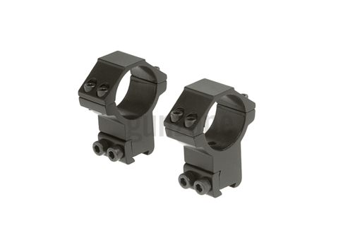30mm Airgun Mount Ring High Black (Leapers)