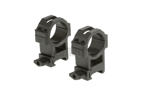 30mm CNC Mount Rings High Black (Leapers)