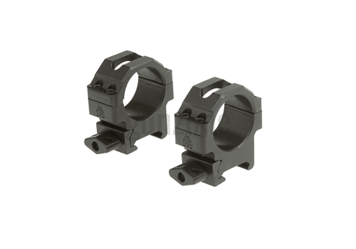 30mm CNC Mount Rings Low Black (Leapers)