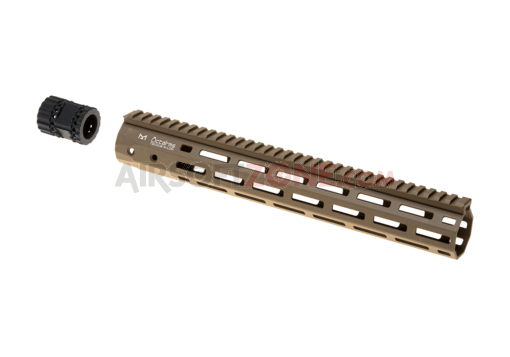 345mm M-LOK Handguard Set Dark Earth (Ares)