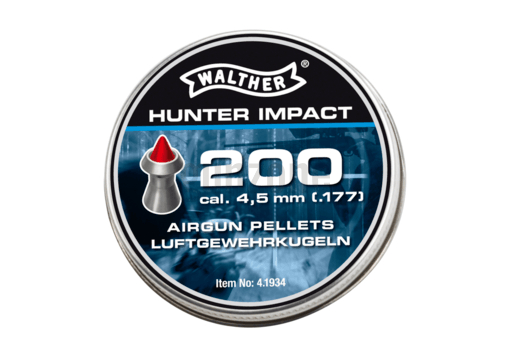 4.5mm Hunter Impact Pellets 0.56g 200rds (Walther)