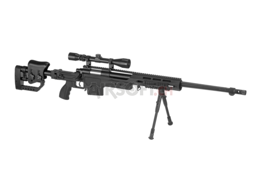 4411D Sniper Rifle Set Upgraded Black (Well)
