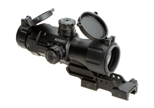 4X32 T4 Prismatic Scope Circle Dot Black (Leapers)