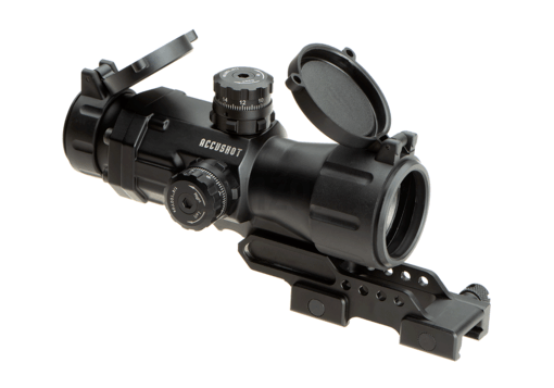 4X32 T4 Prismatic Scope T-Dot Black (Leapers)