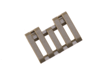 5-Slot-Rail-Cover-with-Wire-Loom-Dark-Earth-Element