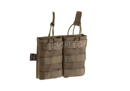 5.56 Double Direct Action Mag Pouch Ranger Green (Invader Gear)