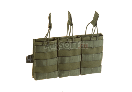 5.56 Triple Direct Action Mag Pouch OD (Invader Gear)