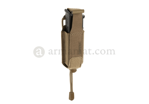 9mm Backward Flap Mag Pouch Coyote (Clawgear)