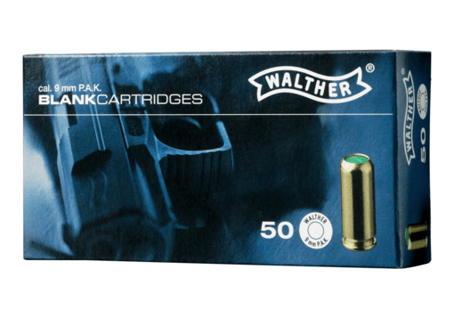 9mm P.A.K. 50rds (Walther)