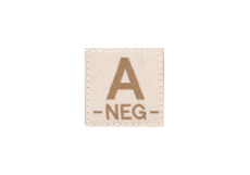 A-Neg-Bloodgroup-Patch-Desert-Clawgear