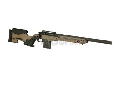 AAC T10 Bolt Action Sniper Rifle Dark Earth (Action Army)