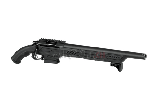 AAC T11 Short Bolt Action Sniper Rifle Black (Action Army)