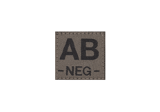 AB-Neg-Bloodgroup-Patch-RAL7013-Clawgear