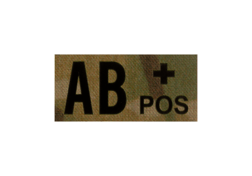 AB Pos IR Patch Multicam