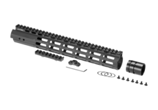 AR-15-12.9-Inch-Super-Slim-Free-Float-Handguard-M-LOK-Black-Leapers