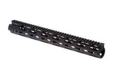 AR-15-15.3-Inch-Super-Slim-Free-Float-Handguard-Black-Leapers