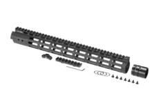 AR-15-15.3-Inch-Super-Slim-Free-Float-Handguard-M-LOK-Black-Leapers