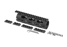 AR-15-7.2-Inch-Super-Slim-Drop-In-Handguard-Black-Leapers