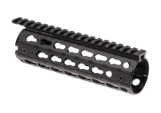 AR-15-7.2-Inch-Super-Slim-Drop-In-Handguard-Keymod-Black-Leapers