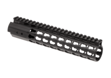 AR-15-9.6-Inch-Super-Slim-Free-Float-Handguard-Keymod-Black-Leapers