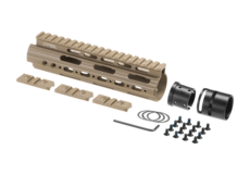 AR-15-Carbine-Lenght-Super-Slim-Free-Float-Handguard-Dark-Earth-Leapers