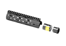 AR-15-Carbine-Length-Super-Slim-Free-Float-Handguard-Black-Leapers