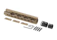 AR-15-Mid-Length-Super-Slim-Free-Float-Handguard-Dark-Earth-Leapers