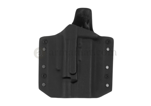 ARES Kydex Holster for Glock 17/19 with X400 Black (Warrior)