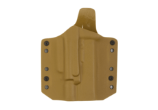 ARES-Kydex-Holster-for-Glock-17-19-with-X400-Coyote-Warrior
