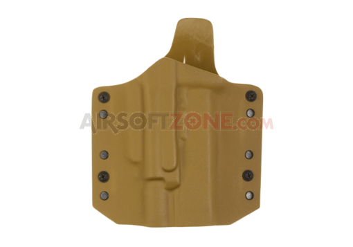 ARES Kydex Holster for Glock 17/19 with X400 Coyote (Warrior)