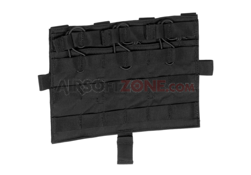 AVS/JPC MOLLE Front Flap M4 Black (Crye Precision by ZShot)