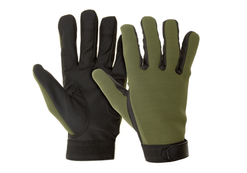 All Weather Shooting Gloves OD XL