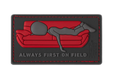Always-First-on-Couch-Rubber-Patch-Color-JTG