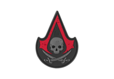Assassin-Skull-Rubber-Patch-Blackmedic-JTG