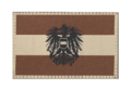 Austria Emblem Flag Patch Desert