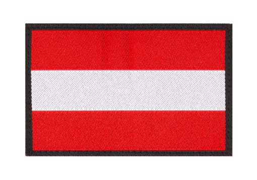 Austria Flag Patch Color