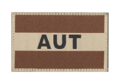 Austria Flag Patch Desert