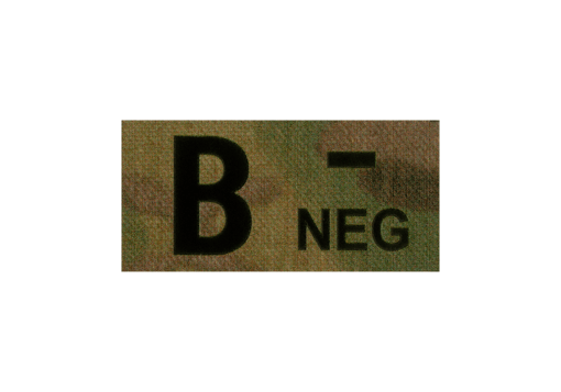 B Neg IR Patch Multicam