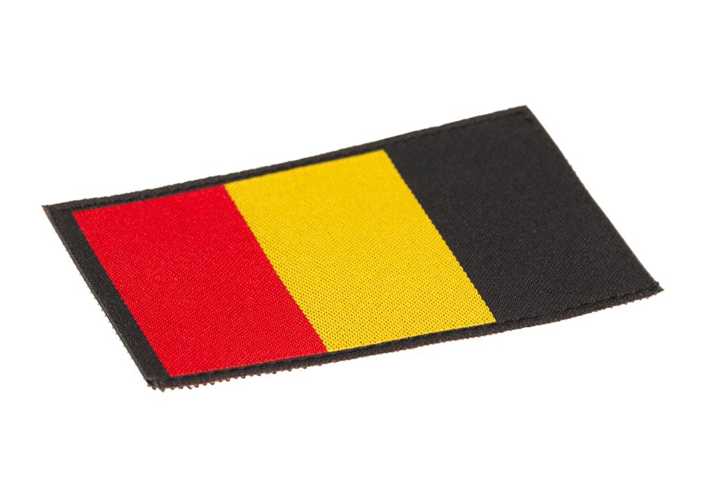 Belgium Flag Patch Color