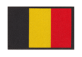 Belgium Flag Patch Color