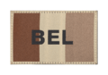 Belgium Flag Patch Desert